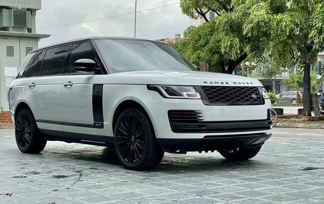 Bán Range Rover Autobiography LWB 3.0 màu trắng Black Edittion, sx 2020, mới 100%, giao ngay2