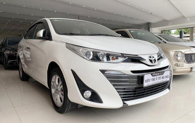 Toyota Vios 1.5G 2019, xe rất đẹp, biển SG, trả góp chỉ từ 185.5 triệu1