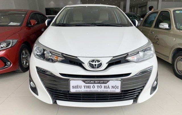 Toyota Vios 1.5G 2019, xe rất đẹp, biển SG, trả góp chỉ từ 185.5 triệu0