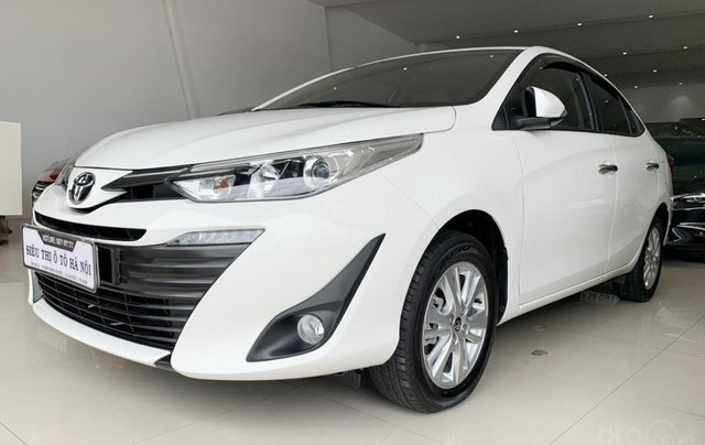 Toyota Vios 1.5G 2019, xe rất đẹp, biển SG, trả góp chỉ từ 185.5 triệu2