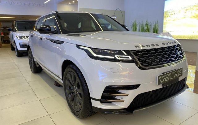 Bán xe Range Rover Velar nhập khẩu chính hãng màu trắng, mới 2020, giá tốt nhất. Xe sẵn, nhiều màu lựa chọn, giao ngay1