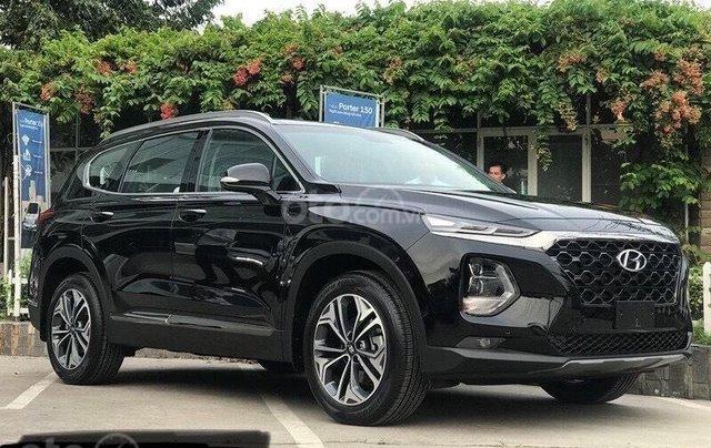 Bán Hyundai Santafe 2020 New - Giảm ngay thuế trước bạ 50%, tặng tiền mặt cùng phụ kiện chính hãng2