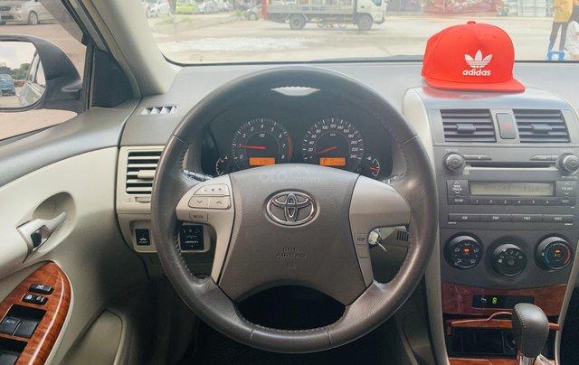 Toyota Altis 1.8AT đời 2010 màu bạc xuất sắc, giá êm6