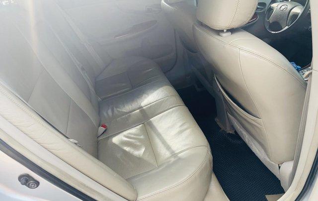 Toyota Altis 1.8AT đời 2010 màu bạc xuất sắc, giá êm13