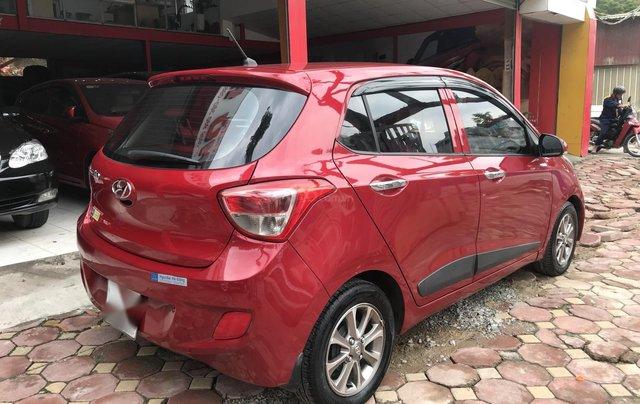 Grand i10 2014 màu đỏ nhập khẩu Ấn Độ3