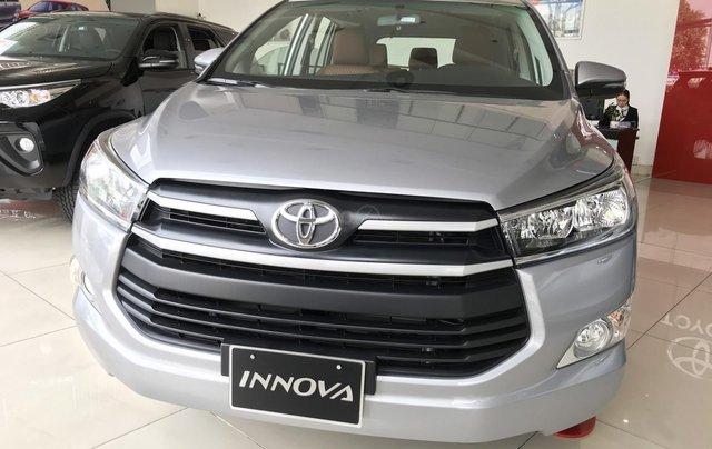 Toyota Innova 2020 - Quà tặng cực hot trong tháng 8/2020. Hỗ trợ 100% phí trước bạ, trả trước nhận xe chỉ từ 190 triệu đồng0