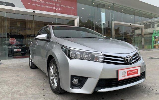 Cần bán xe Toyota Corolla Altis 1.8G CVT 2015 màu bạc đi 69.000km, BS. TpHCM - Xe chất giá tốt chính hãng1