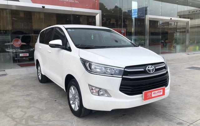 Cần bán xe Toyota Innova 2.0E MT 2018 màu trắng, công ty đi 47.000km - xe chất giá tốt chính hãng1