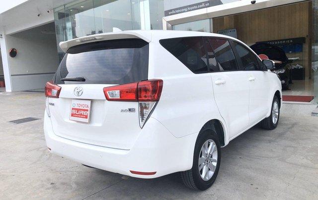 Cần bán xe Toyota Innova 2.0E MT 2018 màu trắng, công ty đi 47.000km - xe chất giá tốt chính hãng5