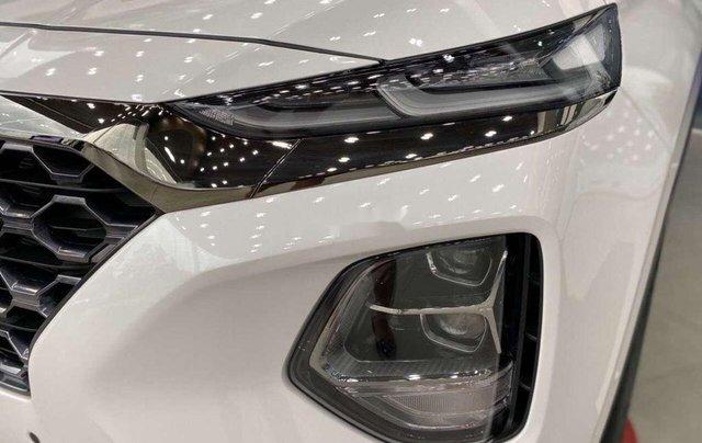 Bán Hyundai Santa Fe đời 2020, màu trắng2