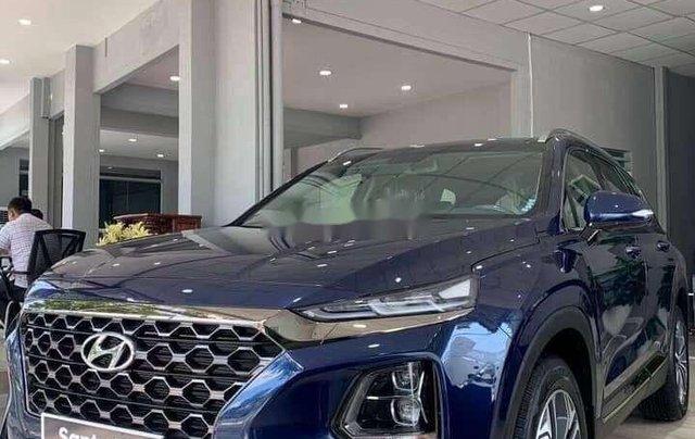 Bán Hyundai Santa Fe đời 2020, màu trắng10