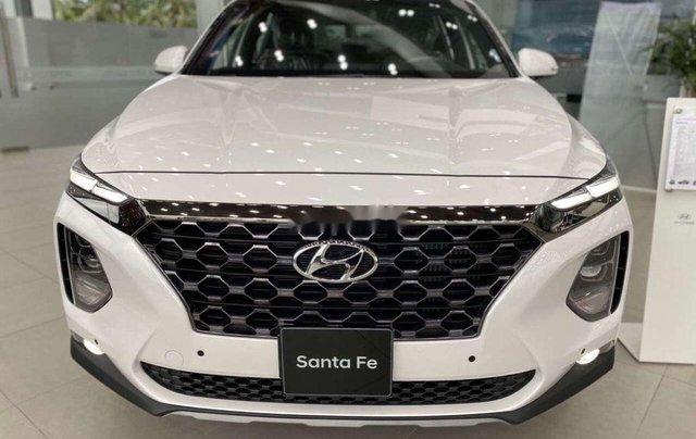 Bán Hyundai Santa Fe đời 2020, màu trắng1