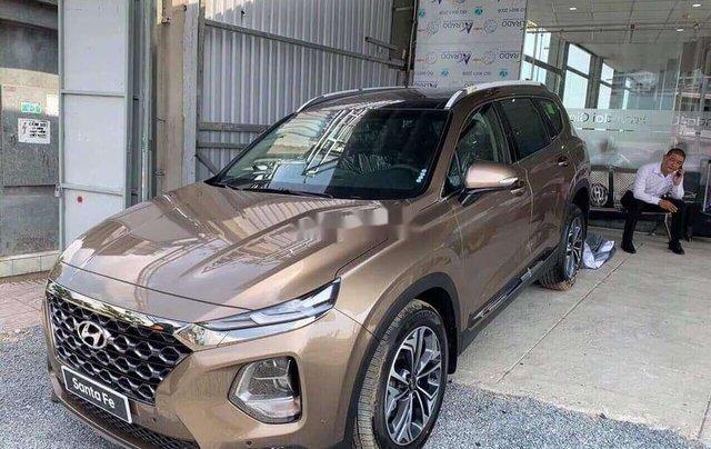 Bán Hyundai Santa Fe đời 2020, màu trắng11