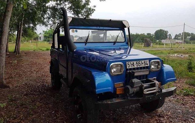 Cần bán UAZ Jeep đời 2005, màu xanh lam, nhập khẩu0