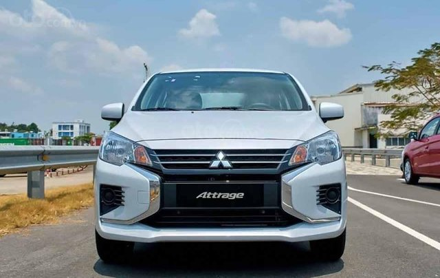 Bán Mitsubishi Attrage sản xuất 2020, màu trắng, nhập khẩu2