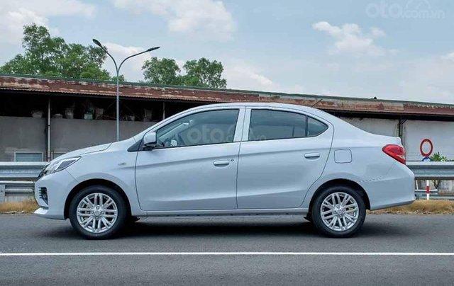 Bán Mitsubishi Attrage sản xuất 2020, màu trắng, nhập khẩu0
