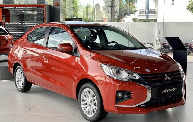 Bán xe Mitsubishi Attrage 2020 giá tốt nhất miền Nam, giảm 50% thuế trước bạ, KM cực hot, trả trước 120tr lấy xe về0