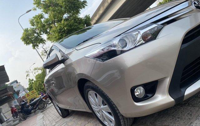Chính chủ bán Toyota Vios G năm sản xuất 2016, số tự động, màu vàng ghi, xe còn rất mới, giá tốt1