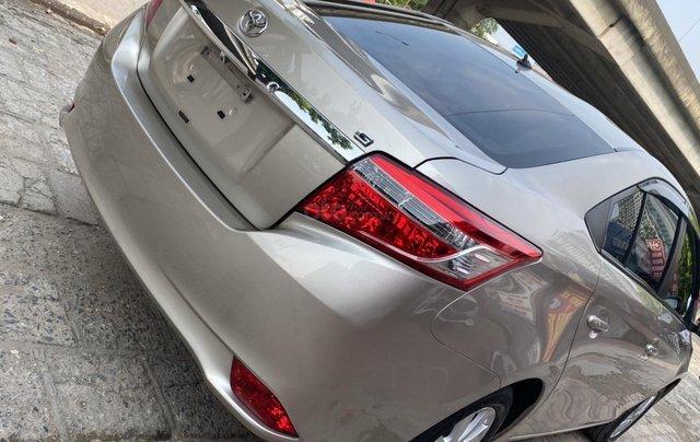Chính chủ bán Toyota Vios G năm sản xuất 2016, số tự động, màu vàng ghi, xe còn rất mới, giá tốt6