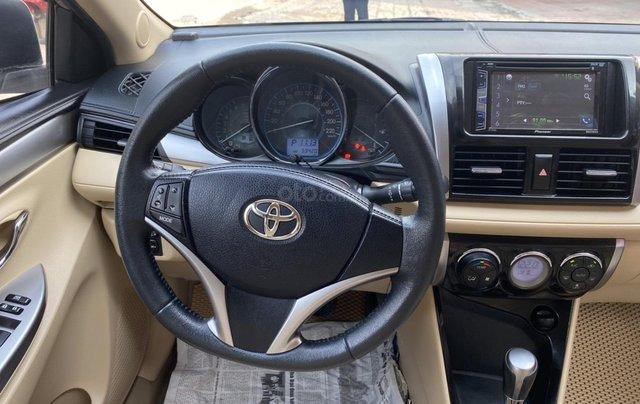 Chính chủ bán Toyota Vios G năm sản xuất 2016, số tự động, màu vàng ghi, xe còn rất mới, giá tốt11