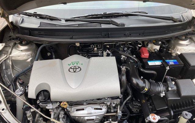Chính chủ bán Toyota Vios G năm sản xuất 2016, số tự động, màu vàng ghi, xe còn rất mới, giá tốt12