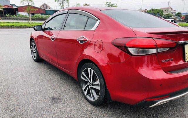 Cần bán lại xe Kia Cerato đời 2018, xe màu đỏ, còn hoàn toàn mới, xe một đời chủ2