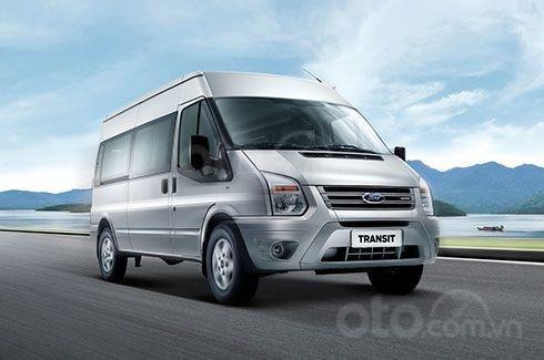 Bán xe 16 chỗ - Ford Transit đời 2020, màu bạc, số sàn4