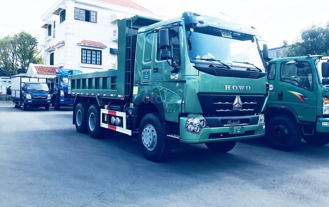 Bán xe tải Ben Howo 3 chân tải 11 tấn giá rẻ tại Hải Phòng và Quảng Ninh, Hải Dương, Hưng Yên, Thái Bình, Nam định3