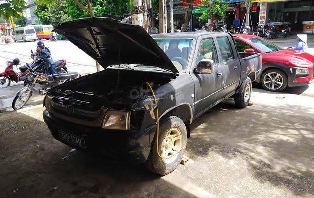 Xe Vinaxuki Pickup 650X đời 2006, màu đen còn mới, giá chỉ 85 triệu0