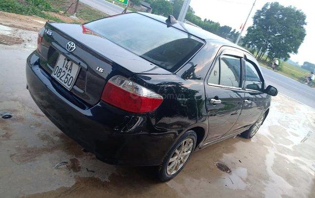 Bán xe Toyota Vios sản xuất năm 2005, màu đen, giá 110tr0