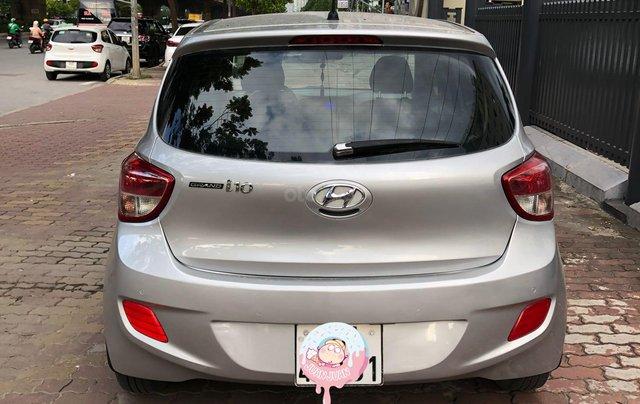 Cần bán xe Hyundai Grand i10 đời 2014, màu bạc còn mới, giá chỉ 225 triệu đồng2