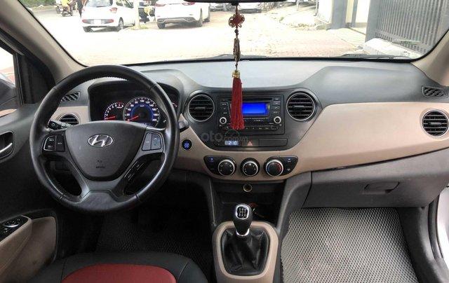 Cần bán xe Hyundai Grand i10 đời 2014, màu bạc còn mới, giá chỉ 225 triệu đồng3