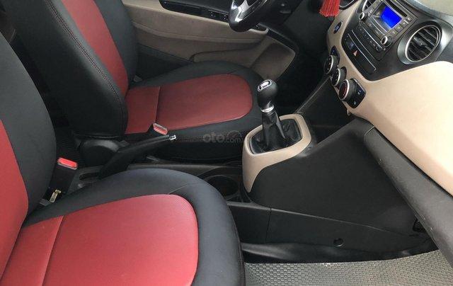Cần bán xe Hyundai Grand i10 đời 2014, màu bạc còn mới, giá chỉ 225 triệu đồng4