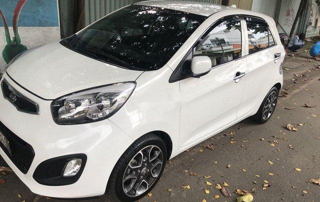 Bán Kia Picanto sản xuất năm 2014, màu trắng số tự động, bản đủ2