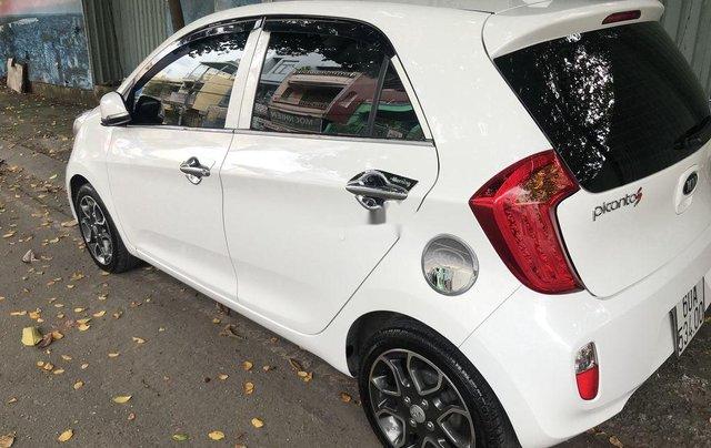 Bán Kia Picanto sản xuất năm 2014, màu trắng số tự động, bản đủ4