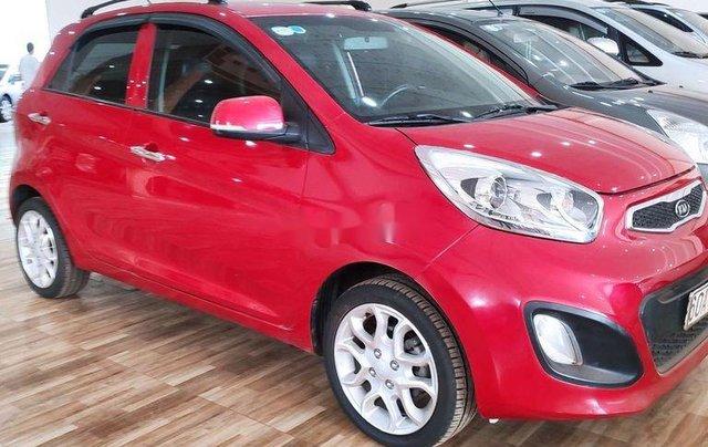 Bán Kia Picanto sản xuất 2014, màu đỏ, xe nhập còn mới, giá tốt1