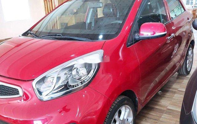 Bán Kia Picanto sản xuất 2014, màu đỏ, xe nhập còn mới, giá tốt2