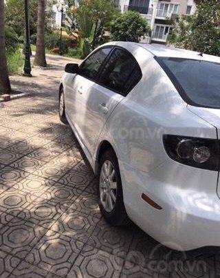 Chính chủ bán xe Mazda 3 AT màu trắng sản xuất 2009 nhập khẩu nguyên chiếc siêu mới5