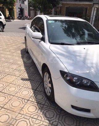Chính chủ bán xe Mazda 3 AT màu trắng sản xuất 2009 nhập khẩu nguyên chiếc siêu mới4