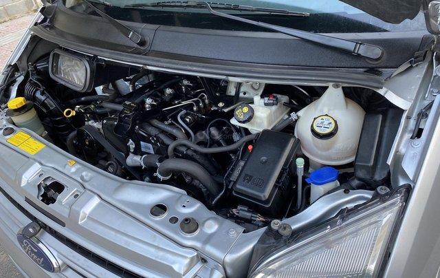 Bán xe Ford Transit cuối 2016 máy dầu, xe không kinh doanh, nội ngoại thất zin, 4 lốp zin còn mới 98%, đồng sơn zin9