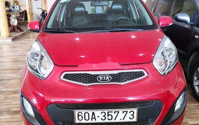 Bán Kia Picanto sản xuất 2014, màu đỏ, xe nhập còn mới, giá tốt0
