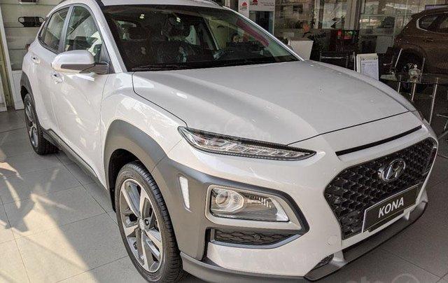 Hyundai Huế : Hyundai Kona 2.0 AT Full trắng, 679 triệu2