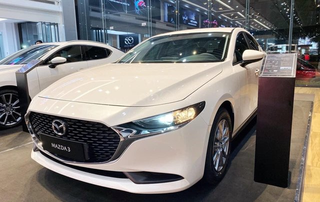 Mazda 3 2020 giá cực tốt, hỗ trợ 50% thuế trước bạ, hỗ trợ trả góp lãi suất thấp, có xe giao ngay1