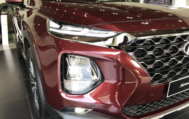Hyundai Santa Fe 2020 bản cao cấp Premium đủ màu, xe giao ngay1