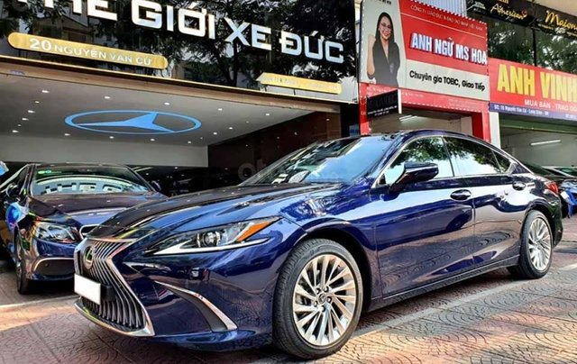Bán Lexus ES 250 sản xuất 2019, màu xanh lam, nhập khẩu0