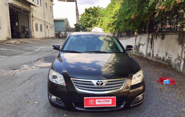 Cần bán xe Toyota Camry 2.4G 2008, màu đen tại, HCM công ty XHĐ đi 125.000km - Xe chất, giá tốt0