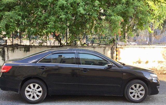 Cần bán xe Toyota Camry 2.4G 2008, màu đen tại, HCM công ty XHĐ đi 125.000km - Xe chất, giá tốt2