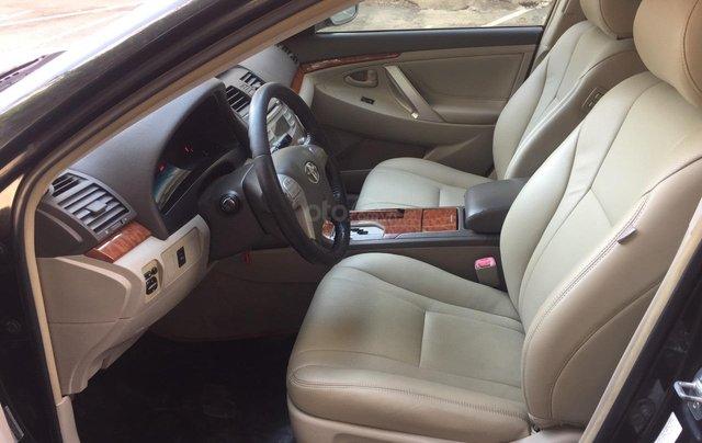 Cần bán xe Toyota Camry 2.4G 2008, màu đen tại, HCM công ty XHĐ đi 125.000km - Xe chất, giá tốt5