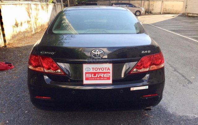 Cần bán xe Toyota Camry 2.4G 2008, màu đen tại, HCM công ty XHĐ đi 125.000km - Xe chất, giá tốt4