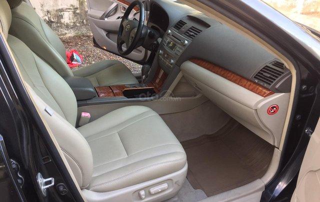 Cần bán xe Toyota Camry 2.4G 2008, màu đen tại, HCM công ty XHĐ đi 125.000km - Xe chất, giá tốt6